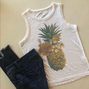 Lucky Brand Sleeveless T-shirt Top, S/P